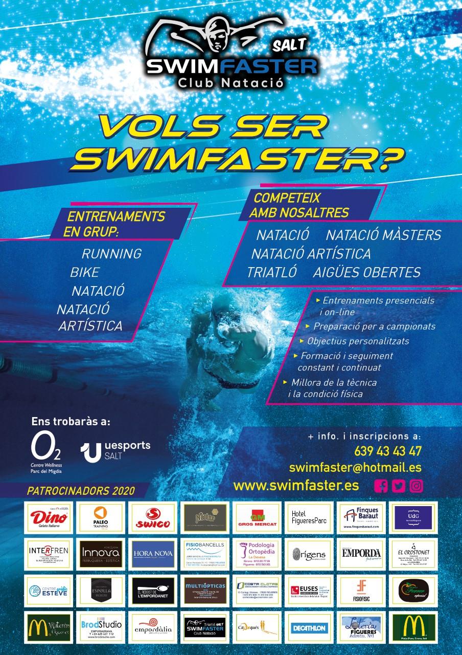 Aprendre a nedar amb Swimfaster